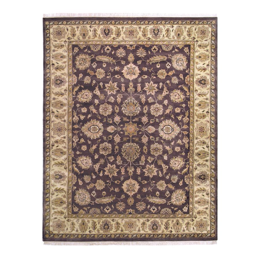442-193 - Woven Heirlooms Mahal Mocha Hand-Made Rug