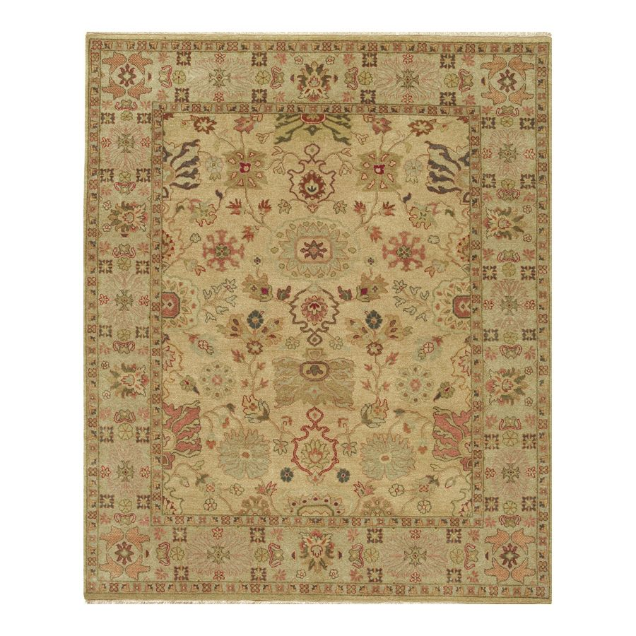 442-197 - Woven Heirlooms Lilihan Gold Hand-Made Rug