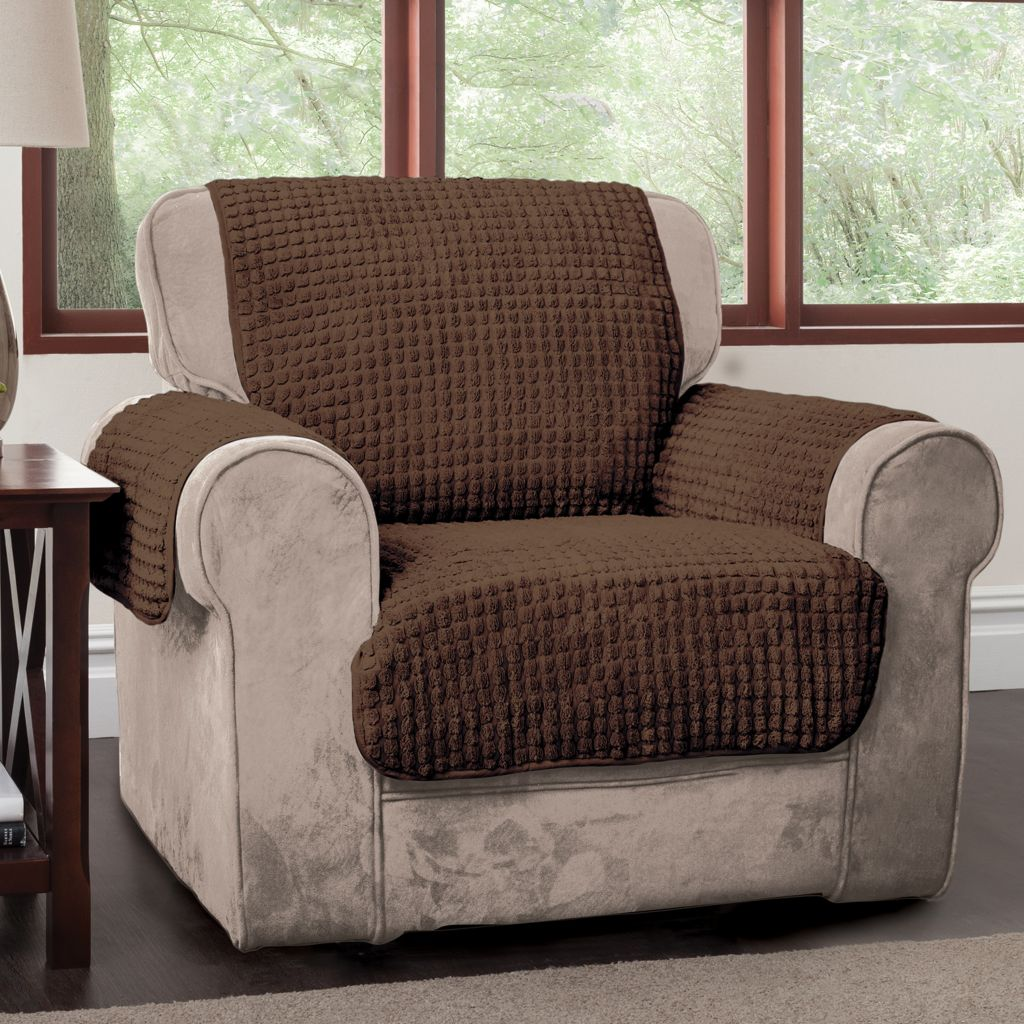 442-229 - Cozelle® Tufted Plush Puff Furniture Protector