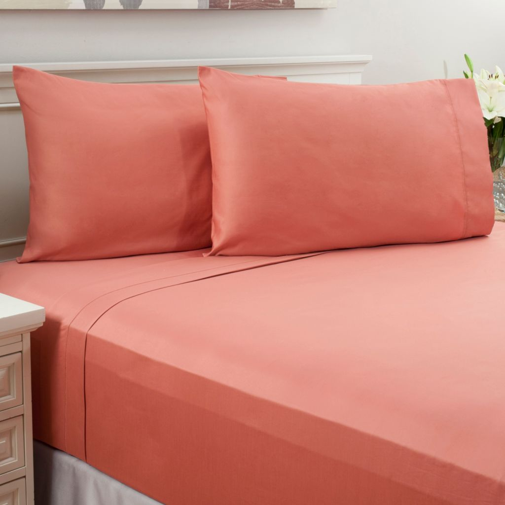 442-245 - North Shore Linens™ 800TC 100% Egyptian Cotton SureSoft® Four-Piece Sheet Set