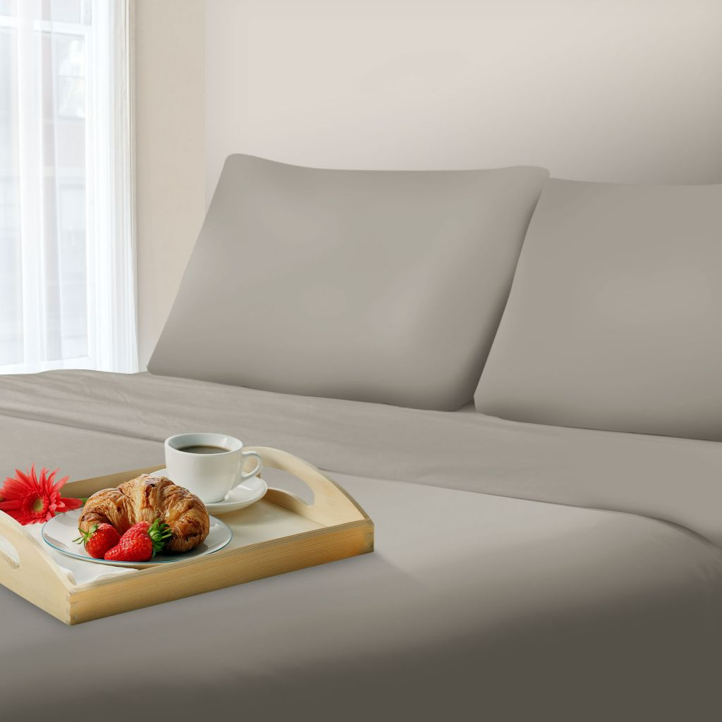 442-275 - Lavish Home 1000 Thread Count Cotton Sateen Blend Four-Pirece Sheet Set