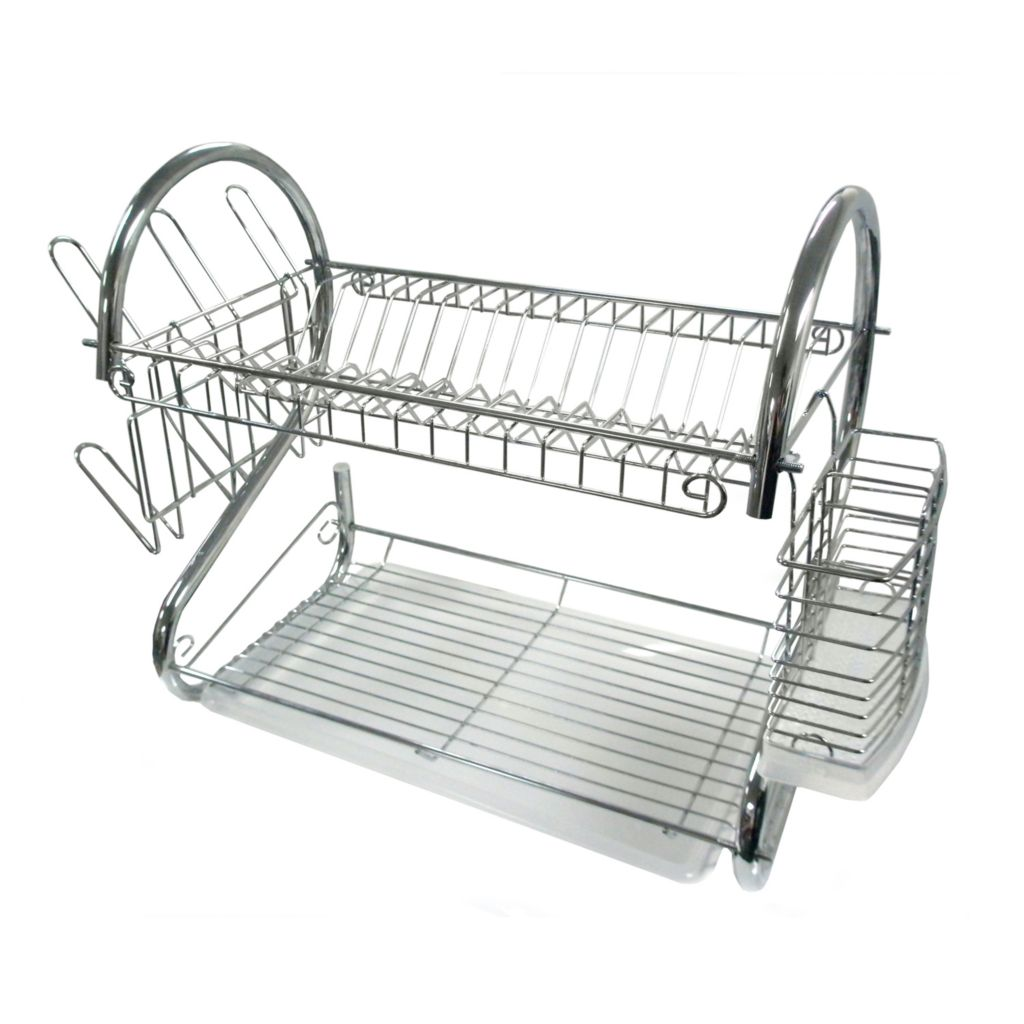 "442-292 - Better Chef 22"" Chrome Dish Rack"