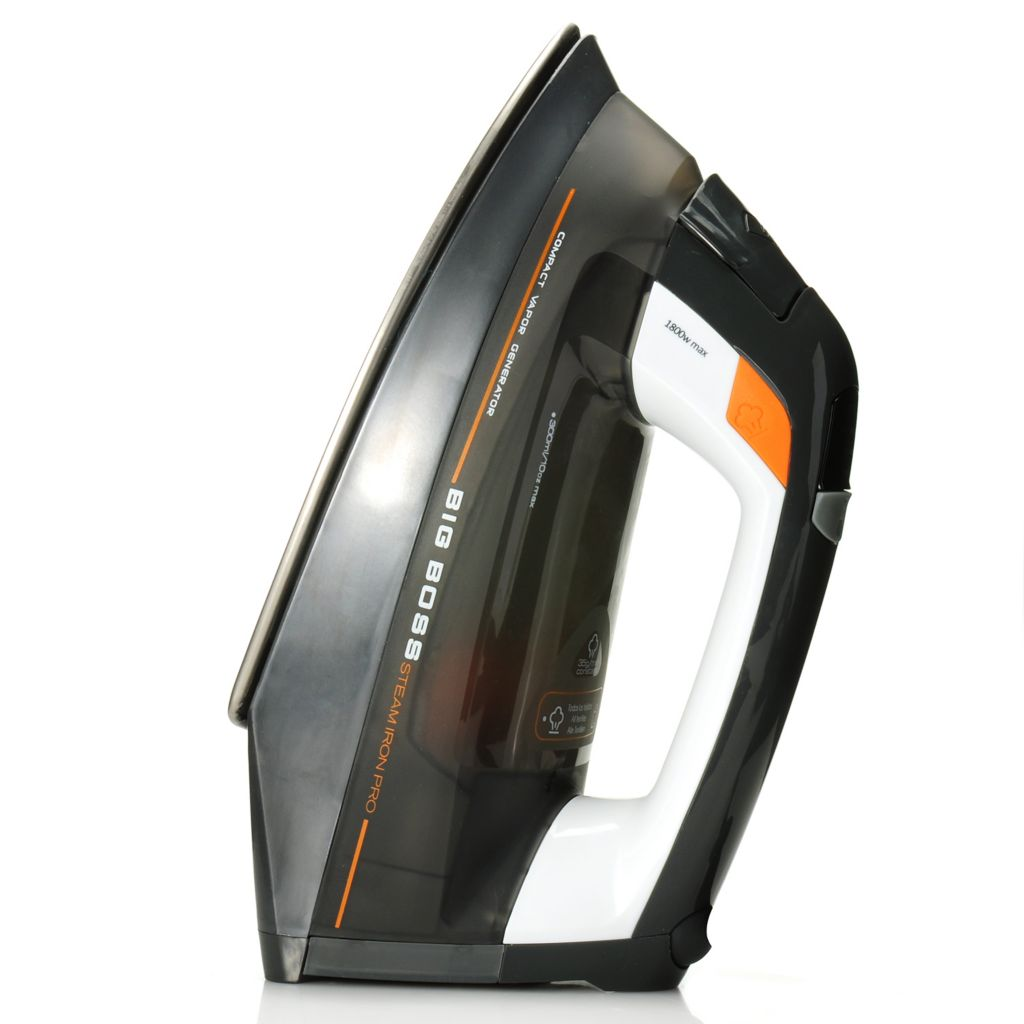 442-331 - Big Boss™ 1800W Vertical Steam Iron Pro w/ Three Heat Settings