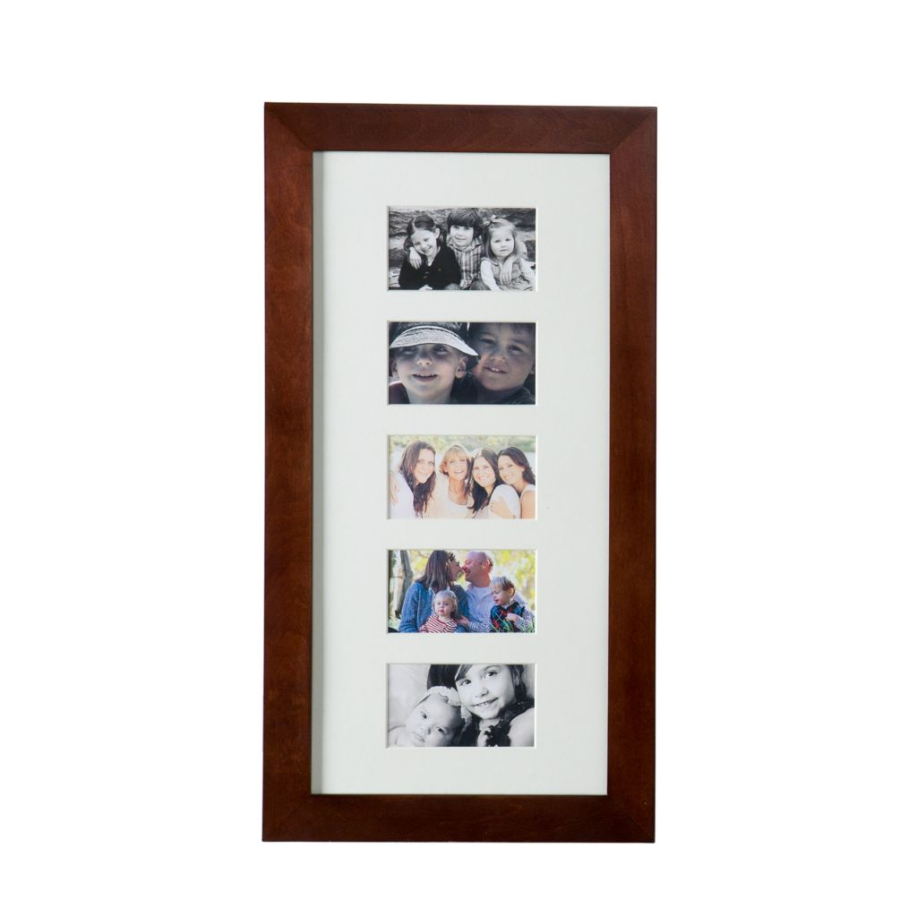 442-389 - Southern Enterprises Wall-Mounted Jewelry Armoire w/ Photo Display