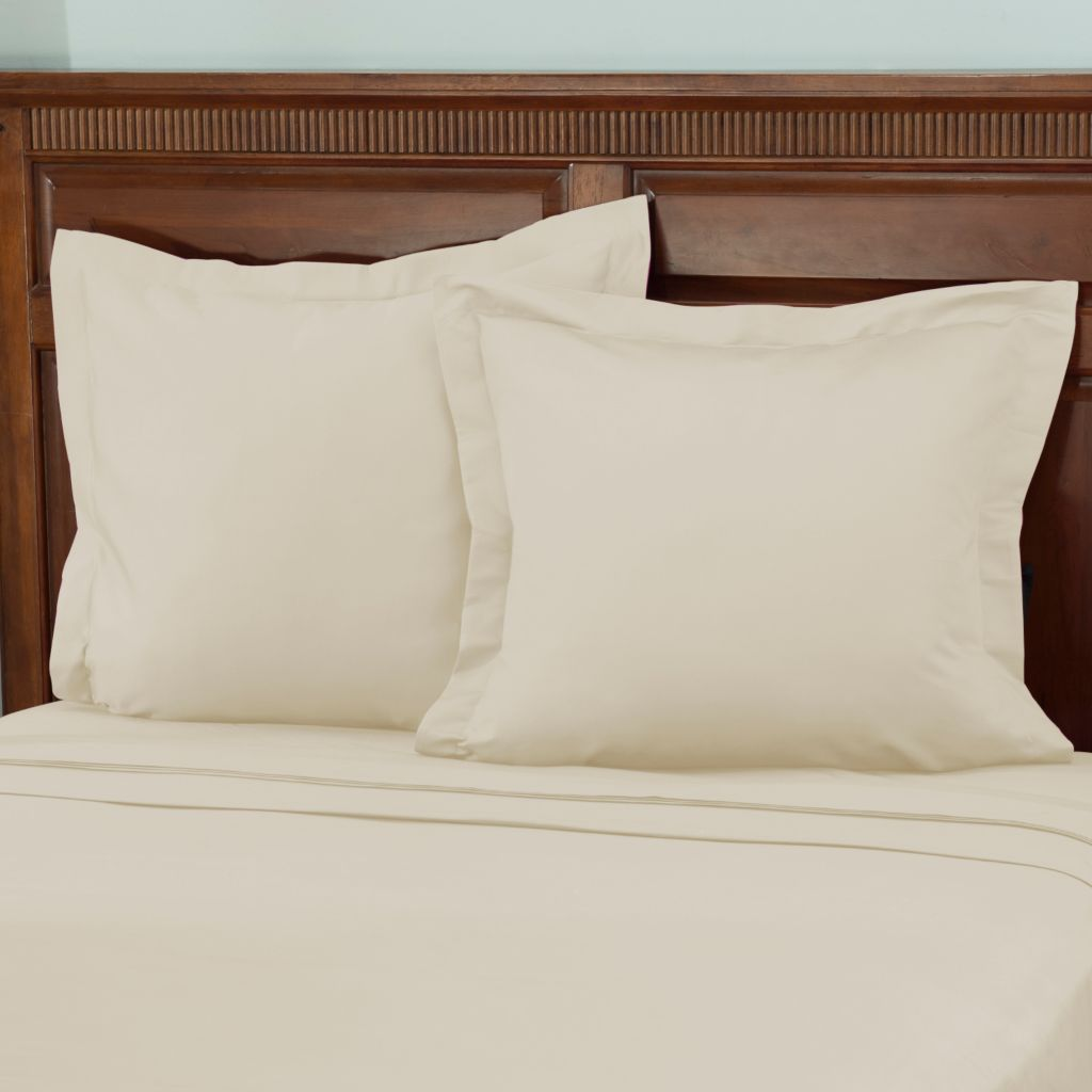 442-396 - North Shore Linens™ 950TC 100% Egyptian Cotton SureSoft® Euro Sham Pair
