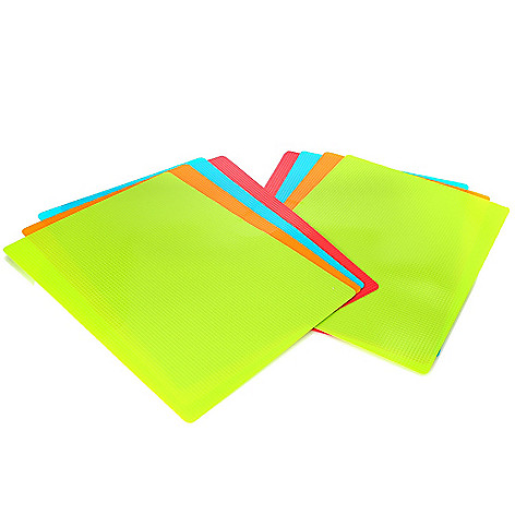 442-405 - Norpro Set of Eight Assorted Color Gripping Flexible Cutting Mats