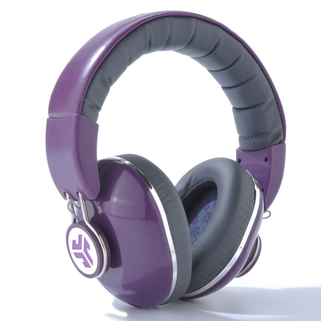 442-420 - JLab Bombora Over-the-Ear Headphones w/ In-Line Mic