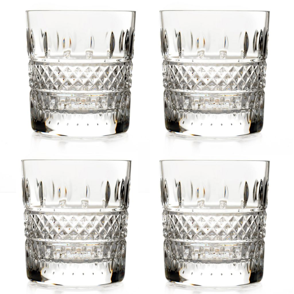 442-438 - Waterford® Crystal Irish Lace Set of Four Glasses