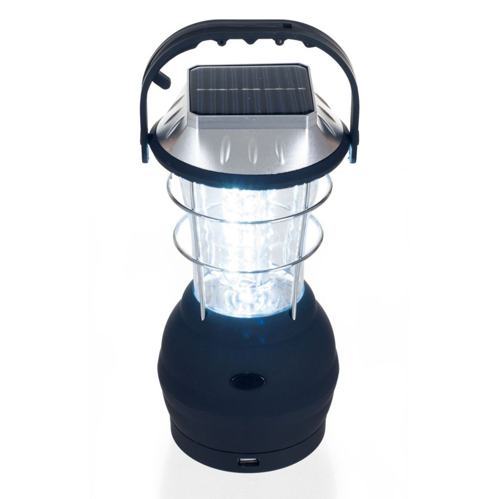 442-470 - Whetstone™  36 LED Solar & Dynamo Powered Camping Lantern