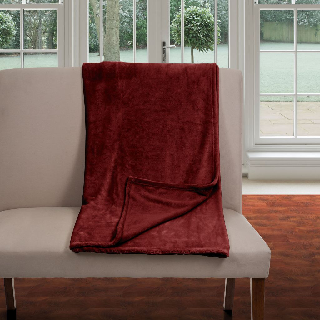 442-486 - Lavish Home Super Soft Flannel Blanket