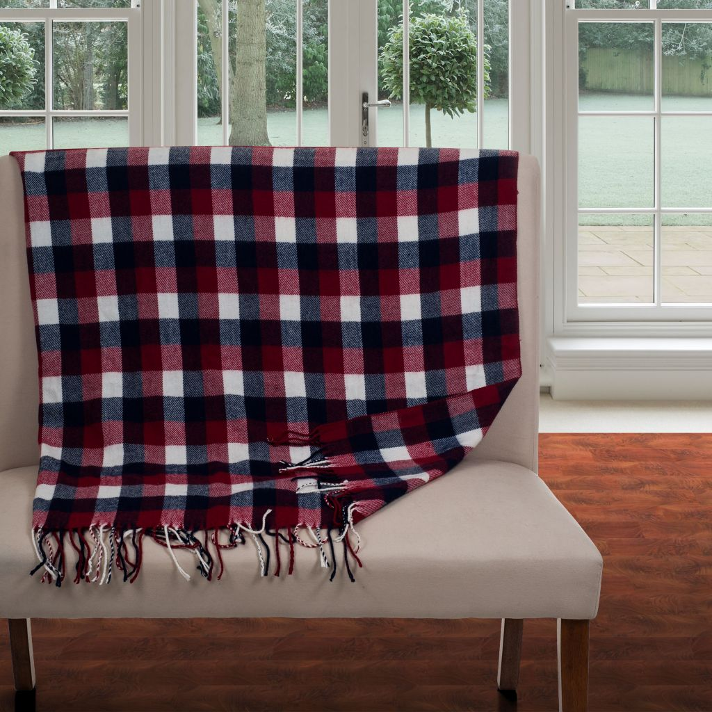 442-491 - Lavish Home Blanket Throw
