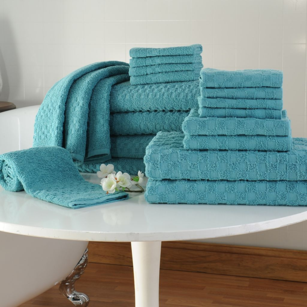 442-493 - Cozelle® Ultra Absorbent 100% Ring Spun Cotton 20-Piece Towel Set