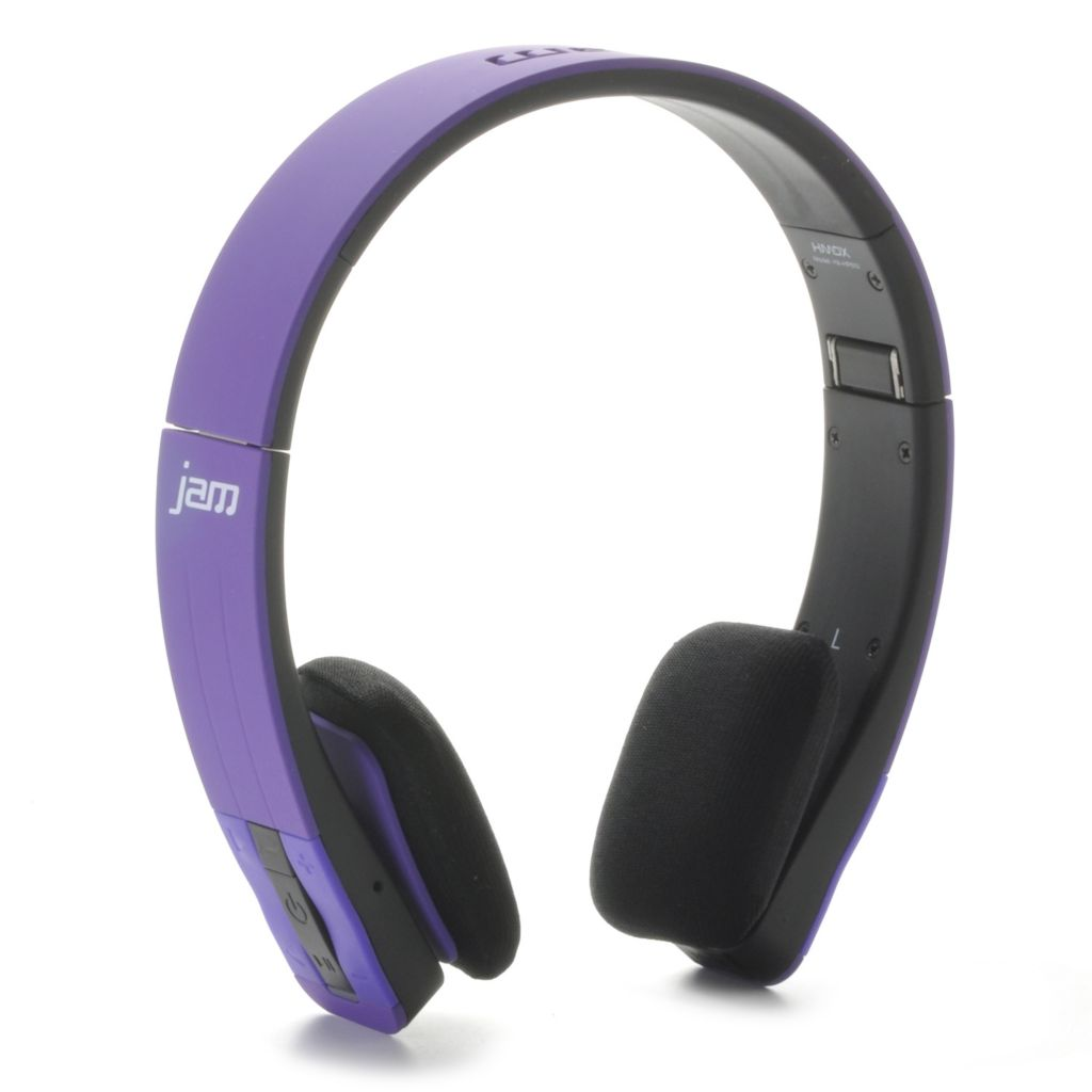 442-498 - HMDX Jam Fusion™ Bluetooth® Stereo Headphones w/ Micro USB Port