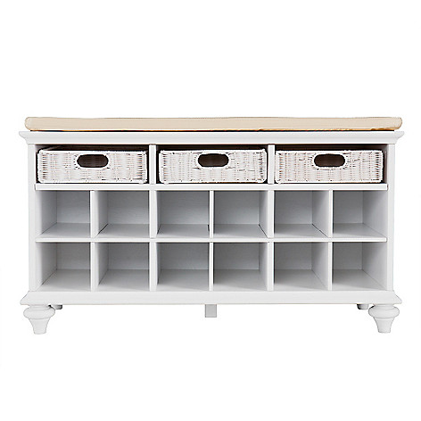 442-510 - NeuBold Home Entryway Shoe & Storage Bench