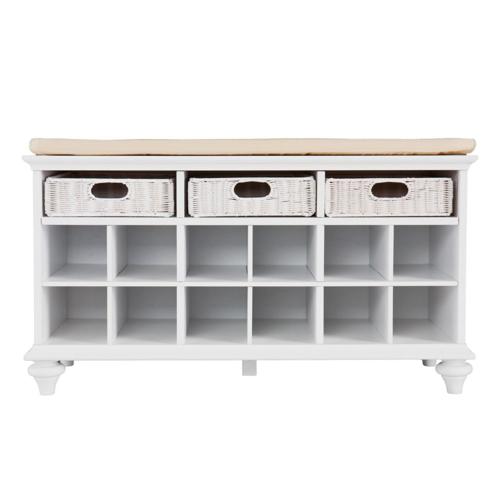 442-510 - Entryway Shoe & Storage Bench