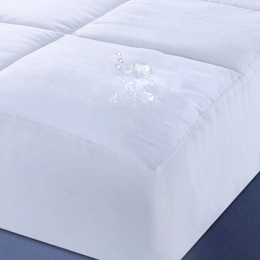 442-552 - Nanofibre Microfiber Water and Stain Resistant Mattress Pad