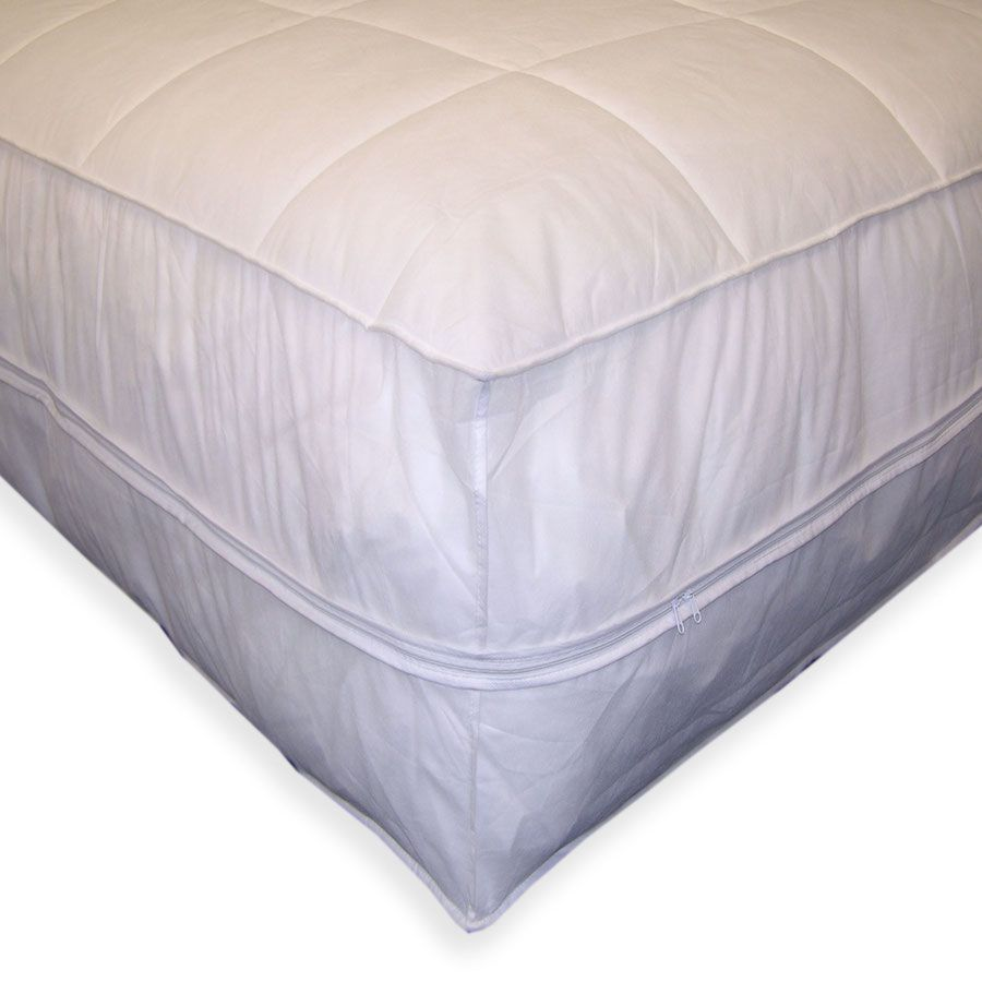 442-561 - Permafresh Polypropylene Encasement Mattress Protector Pad