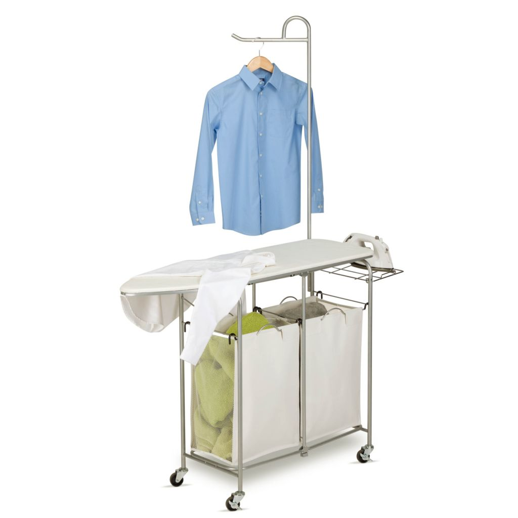 442-576 - Honey-Can-Do Foldable Ironing Laundry Center And Valet