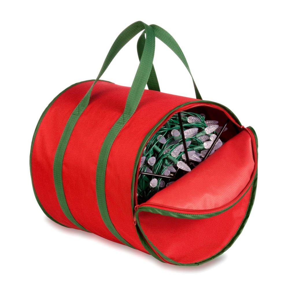 442-589 - Honey-Can-Do Holiday Light Storage Reels And Bag
