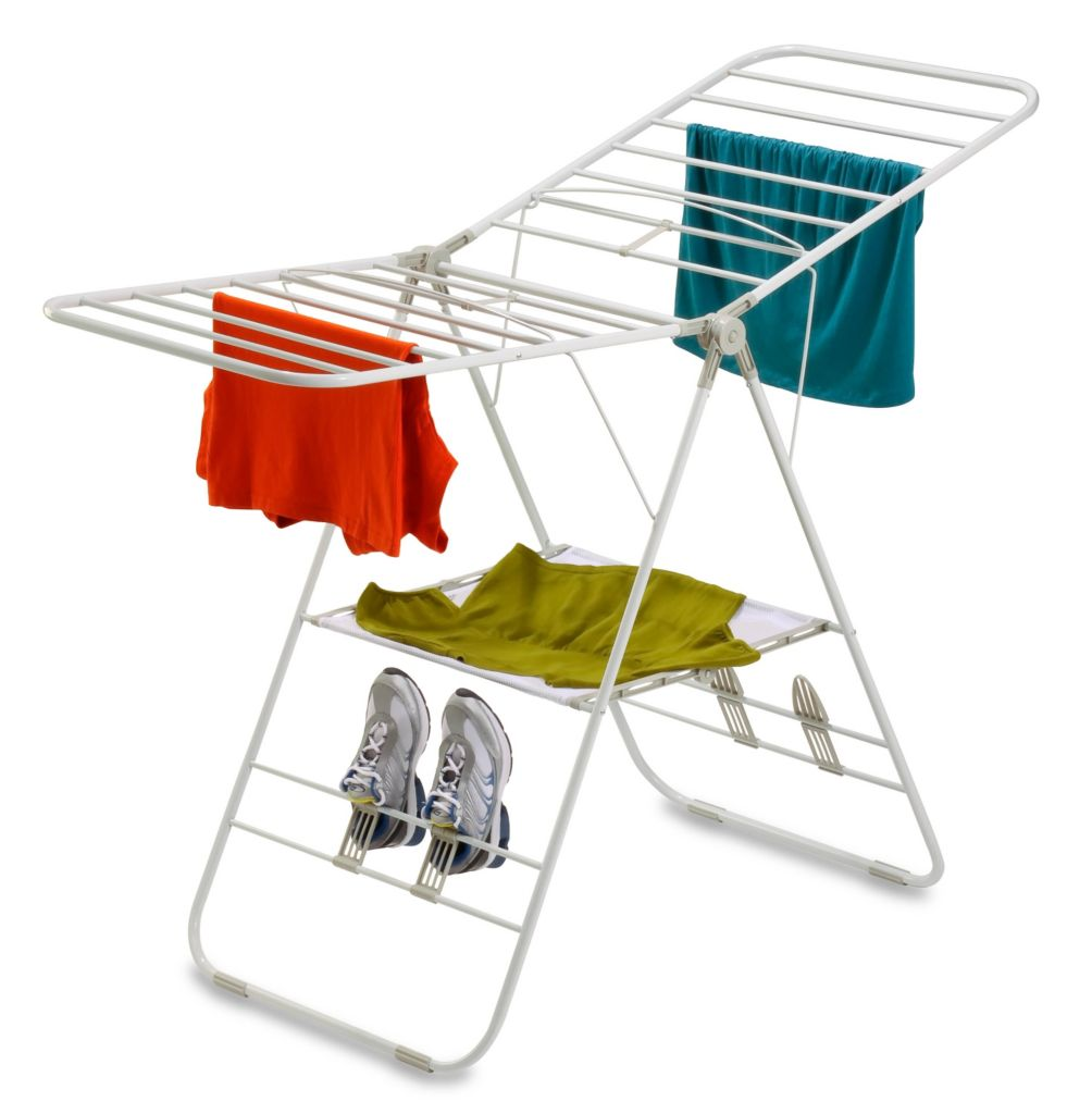 442-597 - Honey-Can-Do Heavy-Duty Gullwing Drying Rack