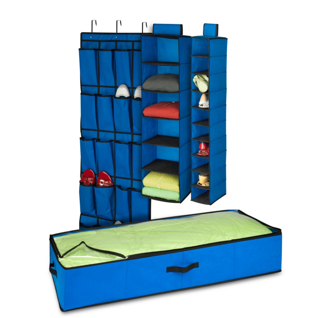 442-599 - Honey-Can-Do Four-Piece Room Organization Set