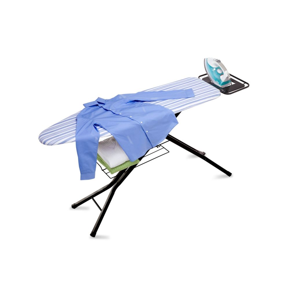 442-603 - Honey-Can-Do Four Leg Ironing Board w/ Iron Rest