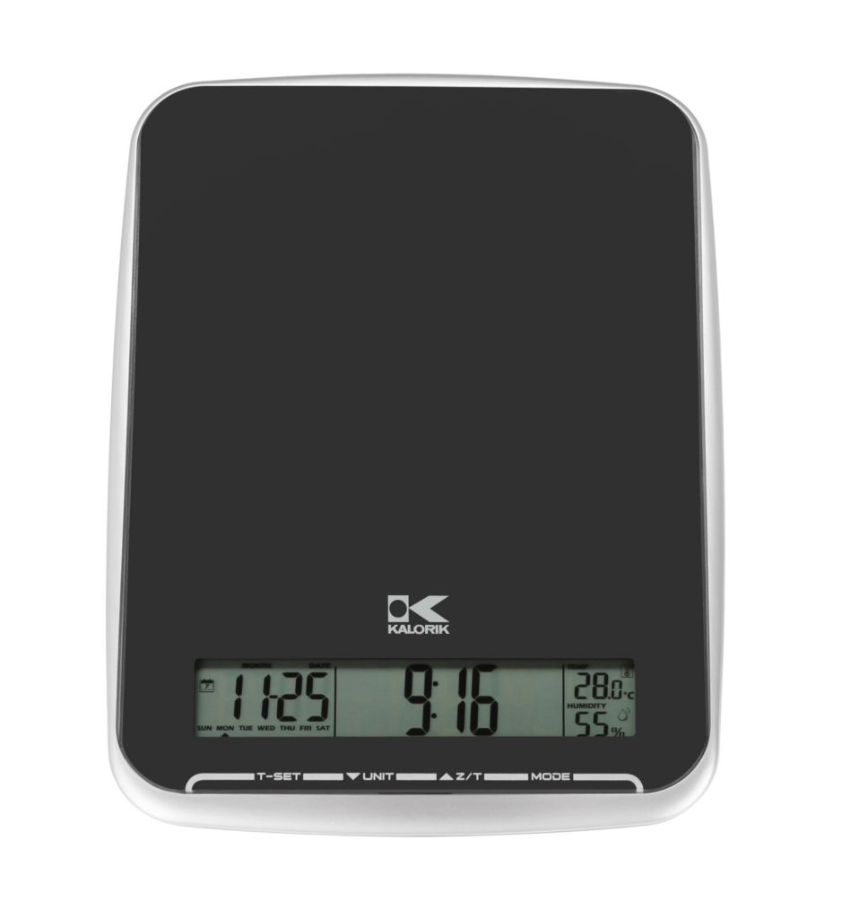 442-617 - Kalorik® Black Onyx Multi-Function Digital Kitchen Scale