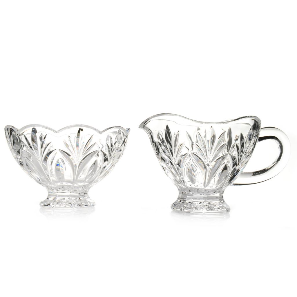 442-621 - Marquis® by Waterford® Canterbury 2-Piece Crystal Sugar & Creamer Set