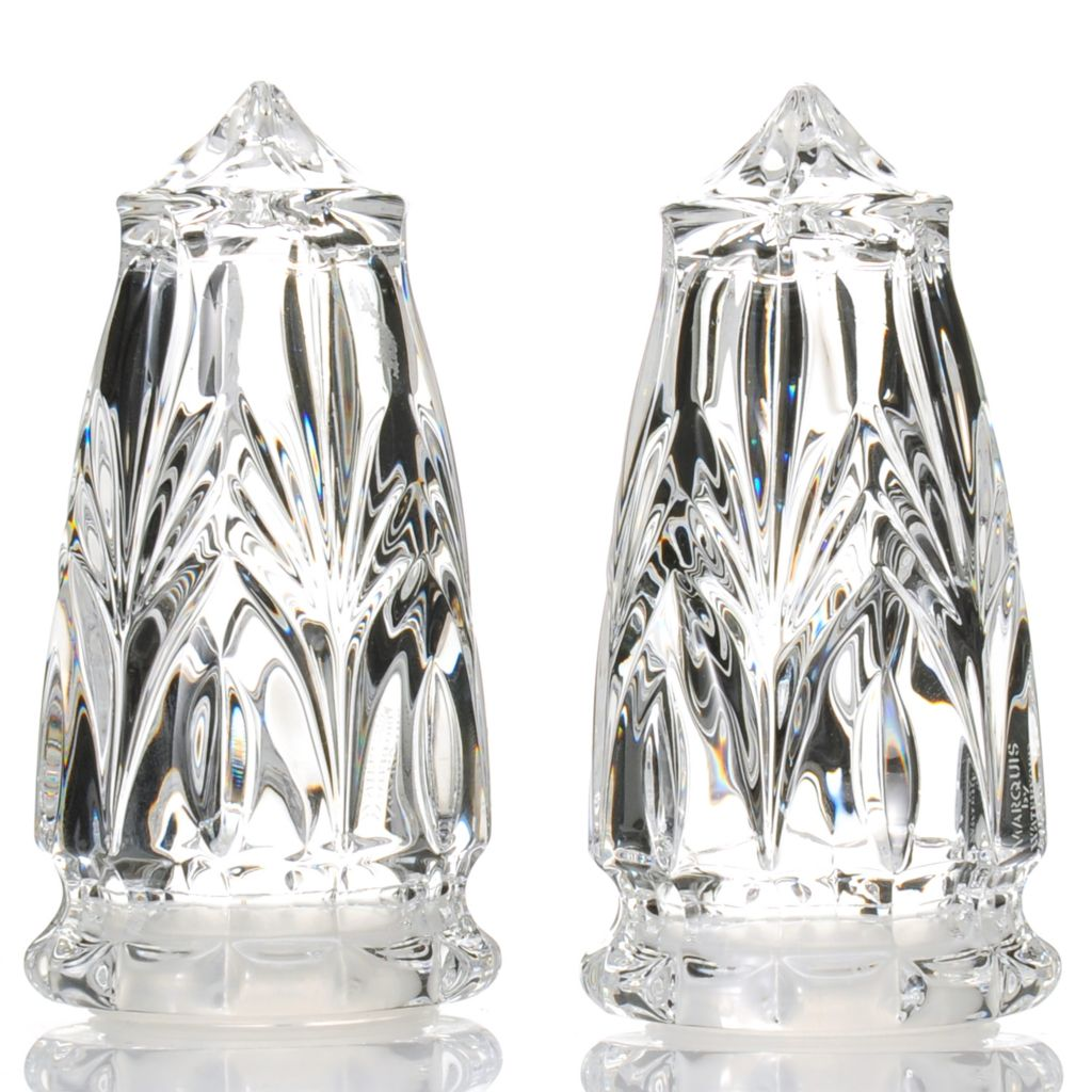 "442-622 - Marquis® by Waterford® Canterbury 4"" Two-Piece Salt & Pepper Shaker Set"