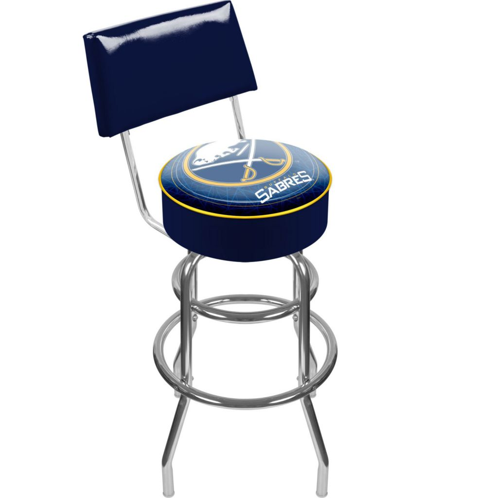 442-710 - NHL Padded Bar Stool w/ Back