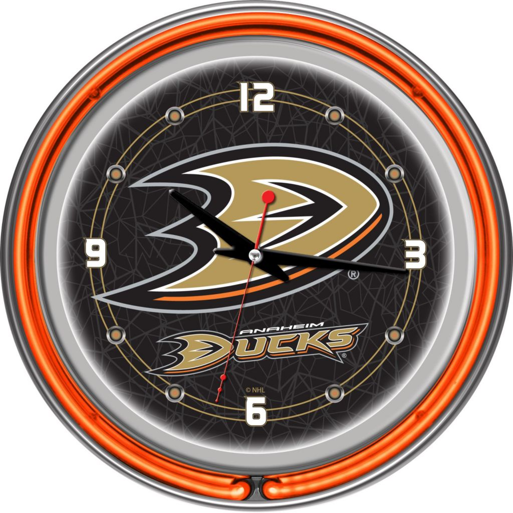 "442-712 - NHL 14"" Neon Round Wall Clock"