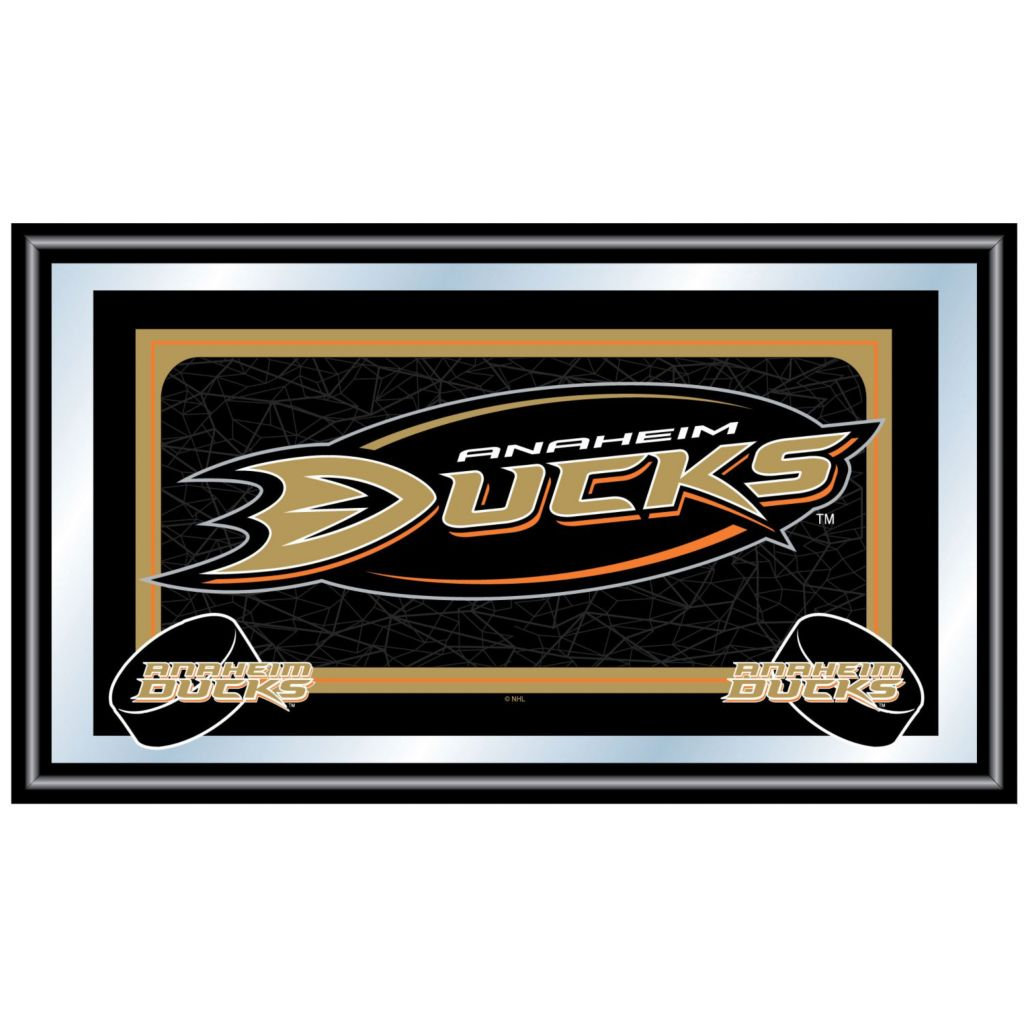 442-714 - NHL Framed Team Logo Mirror