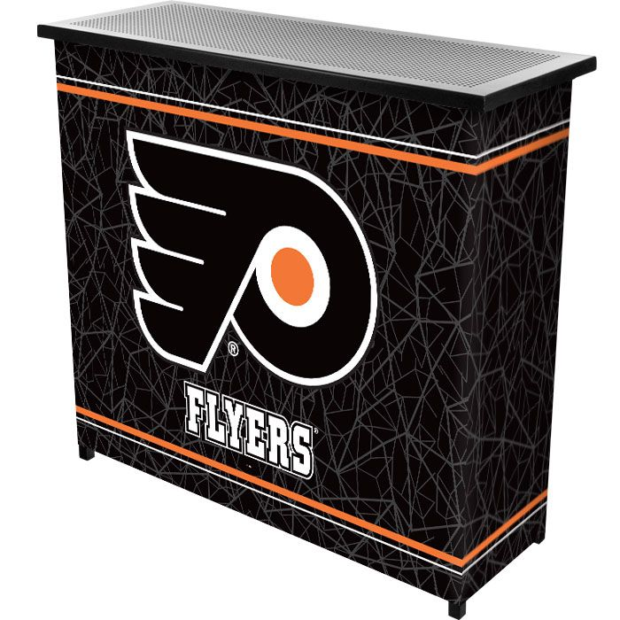 442-731 - NHL Team Logo Two Shelf Portable Bar w/ Case