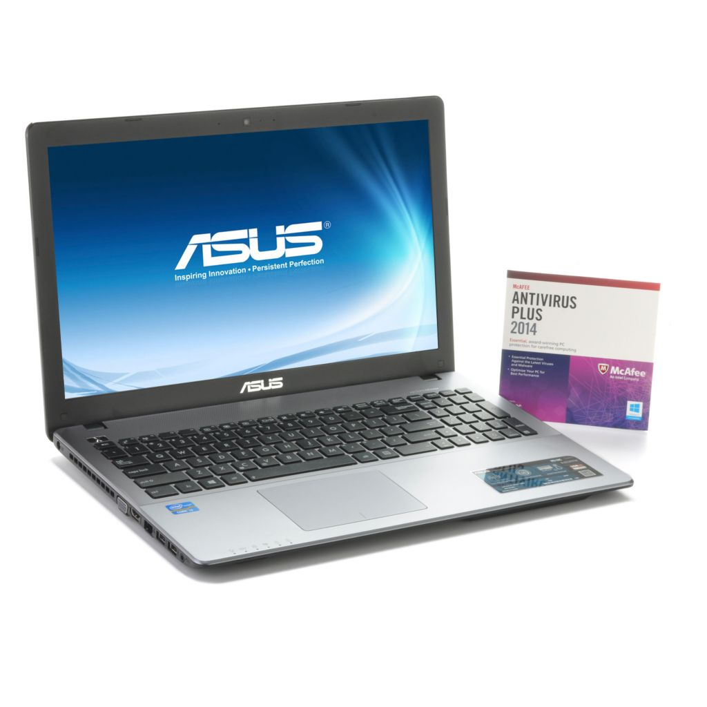 "442-775 - ASUS 15.6"" LED 1.80GHz 500GB HDD Windows® 8 Wi-Fi Notebook w/ McAfee Antivirus"