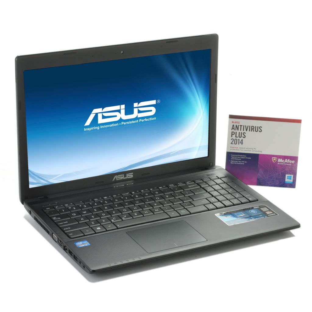 "442-776 - ASUS 15.6"" Intel® Core i3™ 500GB HDD 6GB RAM Windows® 8 Wi-Fi Notebook w/ McAfee AV"