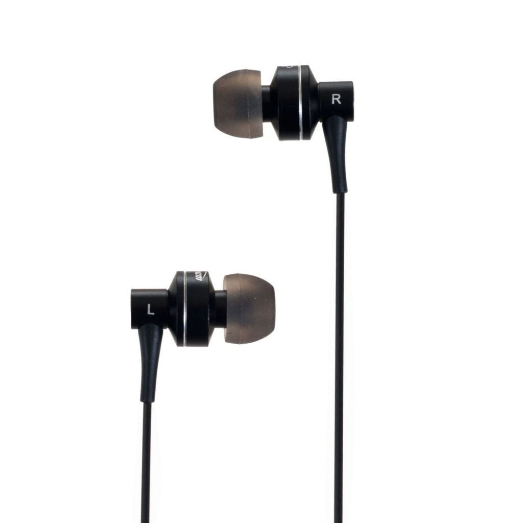 442-787 - Sunbeam Stereo HD Bass Metal Earphones