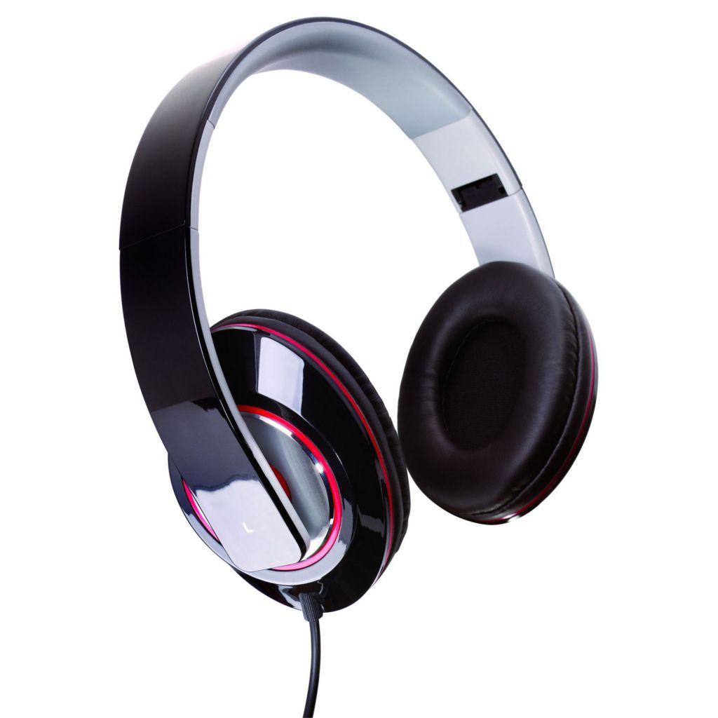 442-789 - Sunbeam Stereo Bass Foldable Headphones