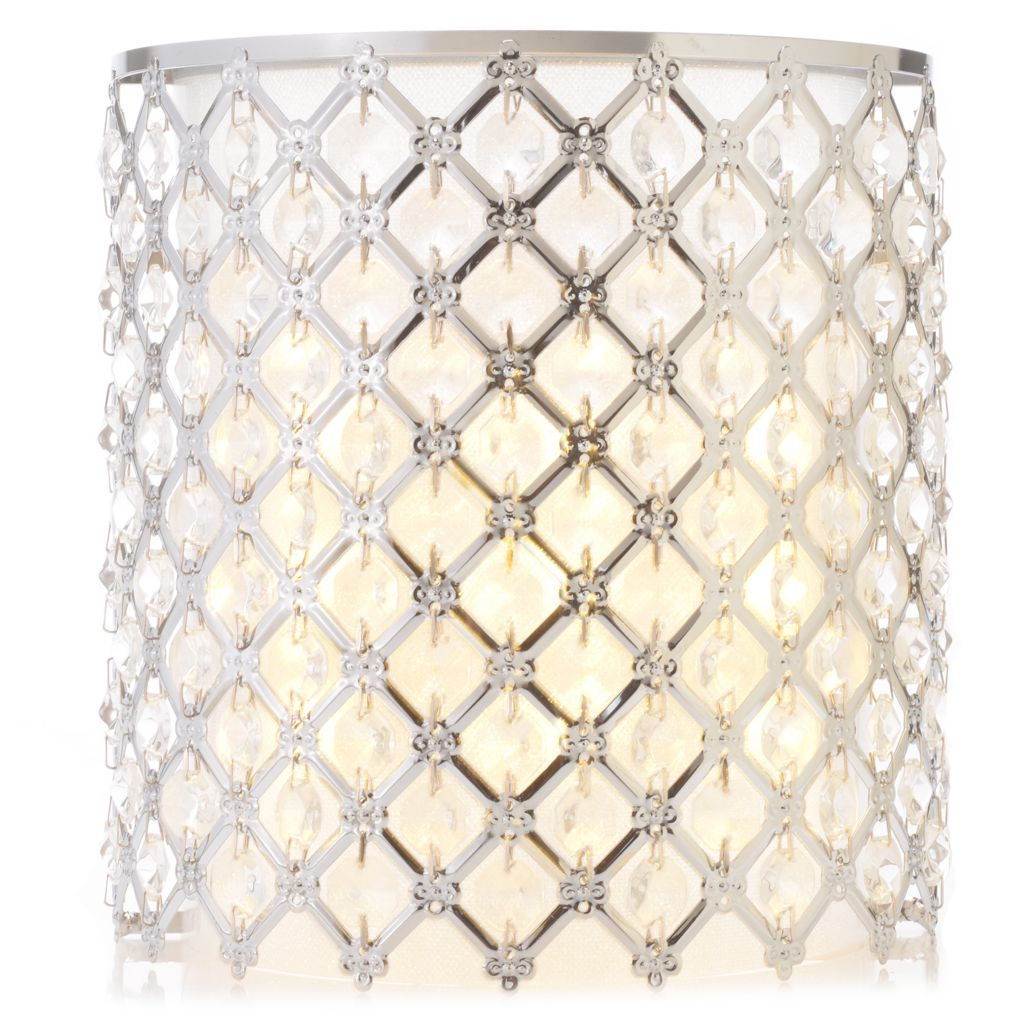 "442-808 - Style at Home with Margie 8.25"" Starlite Wireless LED Wall Sconce"