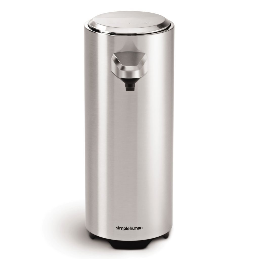 442-815 - simplehuman® 11 oz Rechargeable Sensor Soap Pump w/ Trial Lavender Liquid Hand Soap
