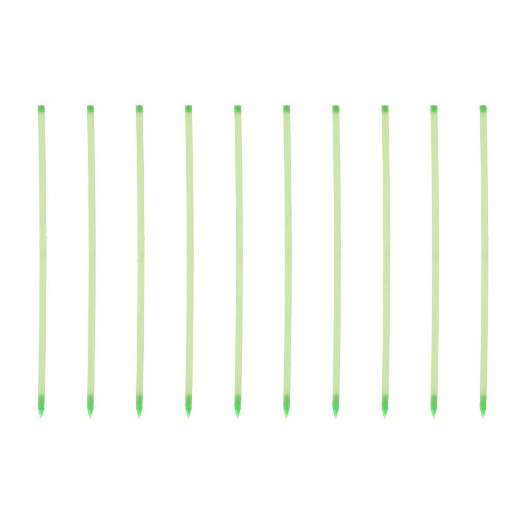 "442-838 - Pure Garden 15.25"" Set of 10 Glow in the Dark Path Marker Rods"