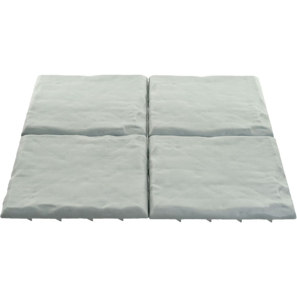 442-842 - Pure Garden Set of Four Gray Rock Decorative Garden Tiles