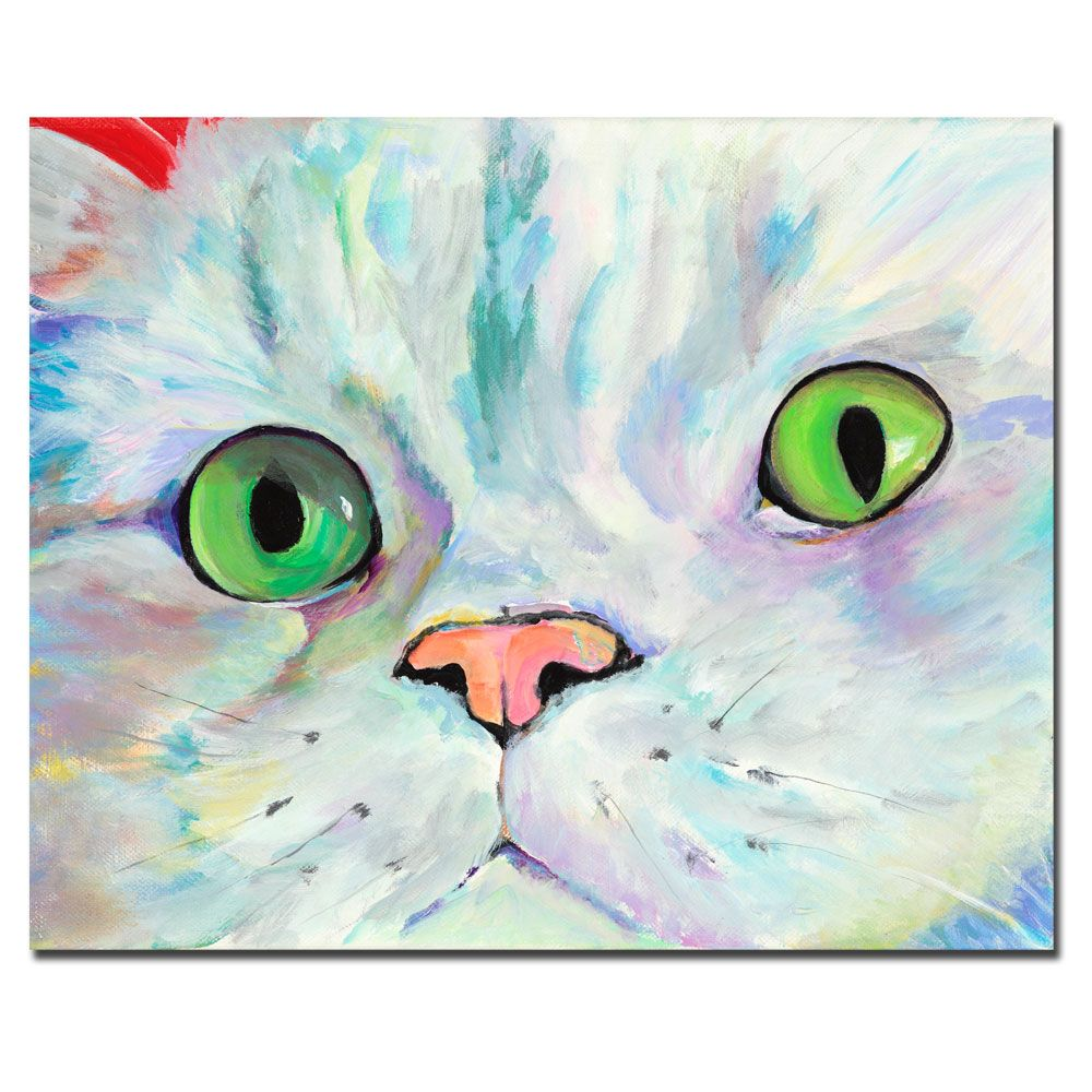 "442-923 - Pat Saunders-White ""Sweet Puss"" Ready to Hang Canvas Art"