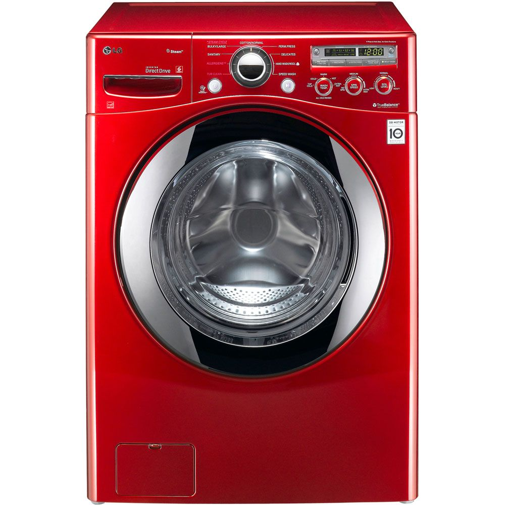 443-016 - LG 3.6 Cu. Ft. Large Front Load Washer w/ Steam Technology