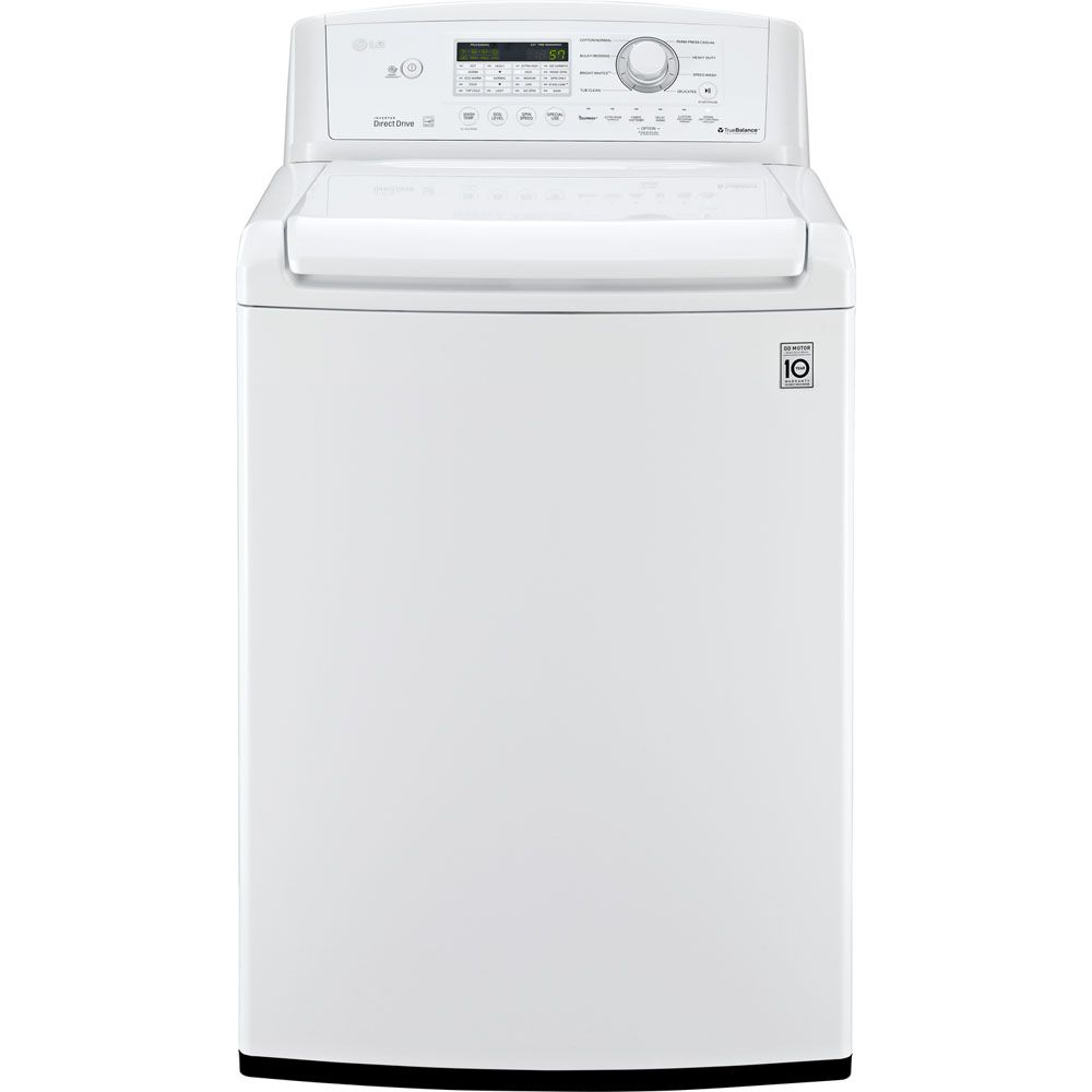 443-019 - LG 4.5 Cu. Ft. High Efficiency Top Load Washer w/ SlamProof Lid