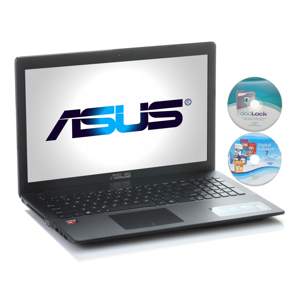 "443-061 - ASUS 15.6"" 1.5GHz Quad-Core 4GB RAM/500GB HDD Wi-Fi Notebook w/ Software"