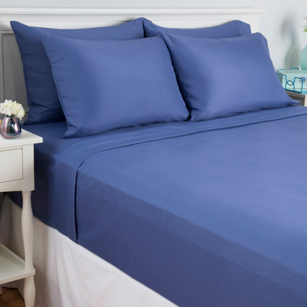 443-128 - Cozelle® Microfiber Six-Piece Sheet Set