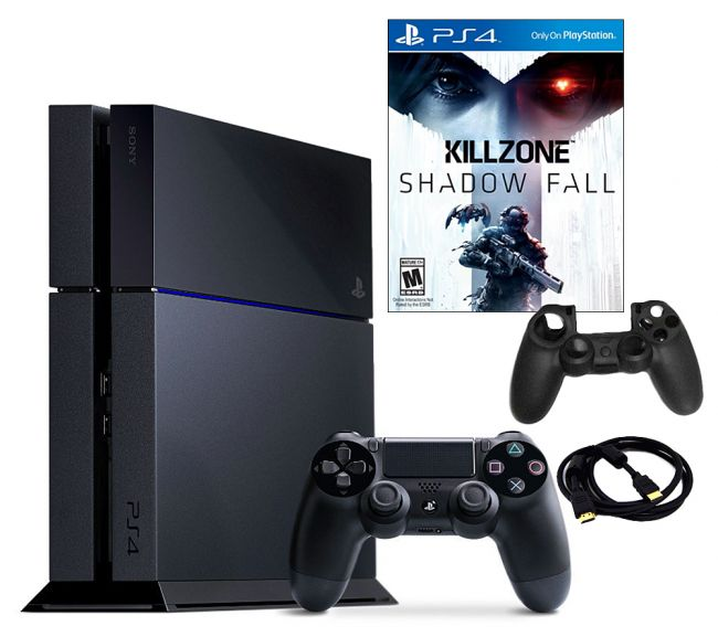 443-193 - PS4 500GB Gaming System Bundle w/ Killzone: Shadowfall Game & Accessories
