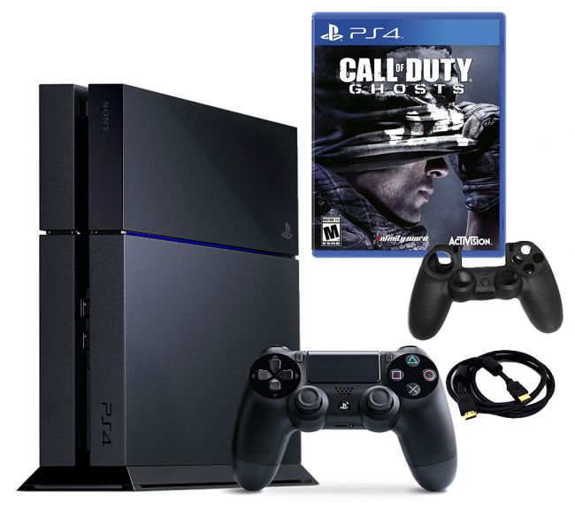 443-194 - PS4 500GB Gaming System Bundle w/ Call of Duty: Ghosts Game & Accessories