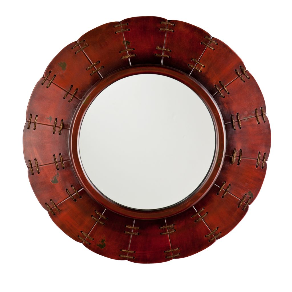 "443-247 - Aspen 30"" Decorative Round Wall Mirror"