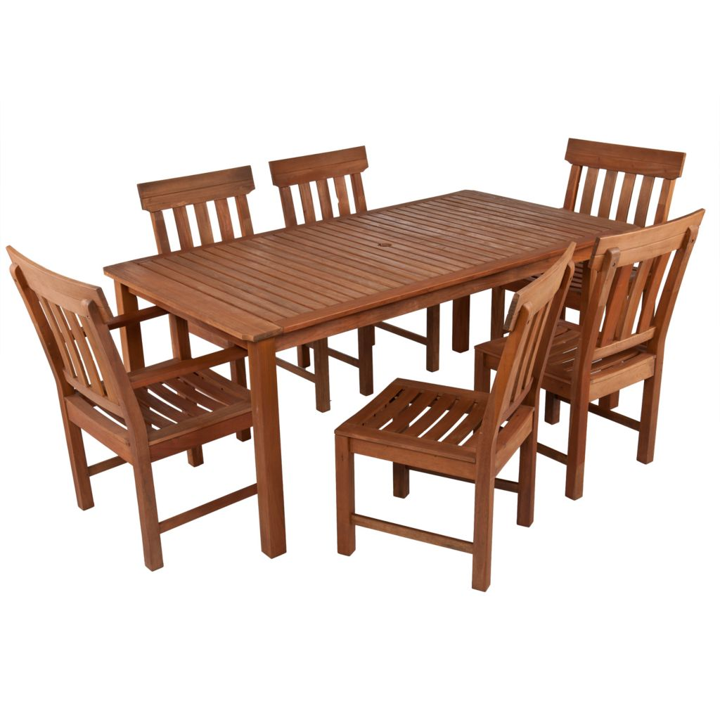 443-259 - NeuBold Home Lavelle Dining w/ Side & Arm Chairs Seven-Piece Set